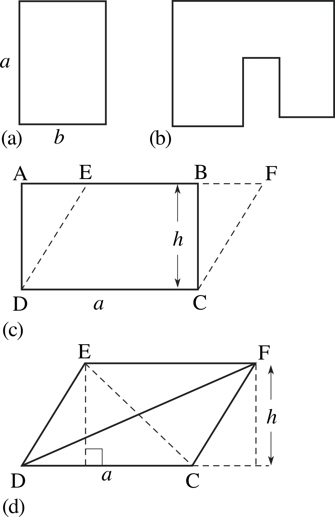 worksheet Area Of Triangles And Quadrilaterals pplato flap math 2 1 introducing geometry the areas of quadrilaterals and triangles