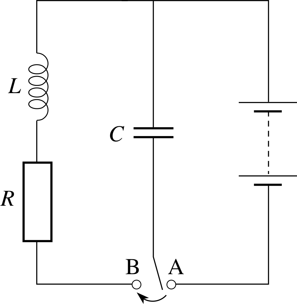 Solving A Circuit Containing Resistor And Inductor In Parallel Pplato Flap Phys 54 Ac Circuits Electrical Oscillations 34 Damped Lcr Figure 22 An